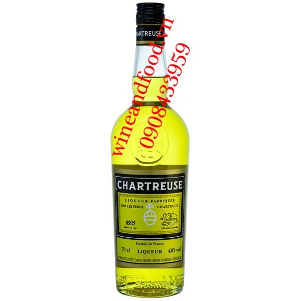 Rượu mùi Chartreuse Vàng 70cl