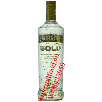 Rượu Smirnoff Gold vảy vàng hương Quế No.21