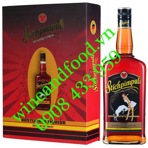 Rượu Stichpimpuli Bockforcelorum Kostlicher Liqueur hộp quà 700ml