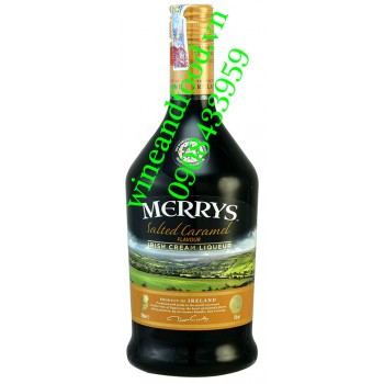 Rượu sữa Merrys Salted Caramel Irish cream 700ml