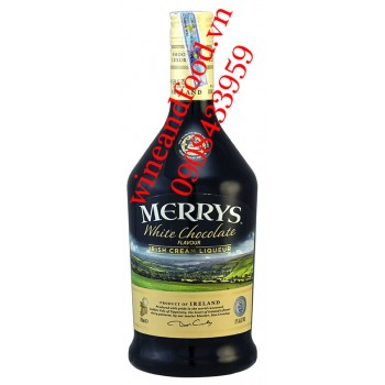 Rượu sữa Merrys white chocolate Irish Cream 750ml