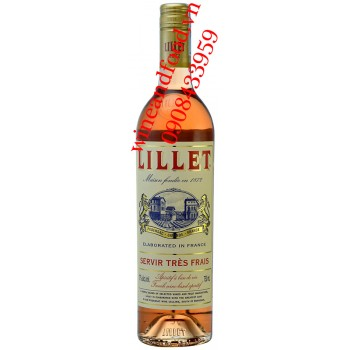 Rượu vang Lillet Rose 750ml