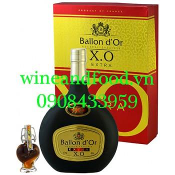 Rượu Brandy Ballon d'Or XO Extra hộp quà 70cl