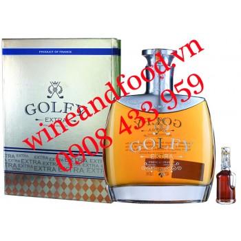 Rượu Brandy Golfy Extra hộp quà 750ml