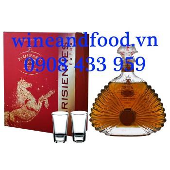 Rượu Brandy Parisiennes Napoleon Extra hộp quà 750ml