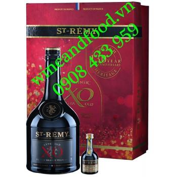 Rượu Brandy St Remy XO hộp quà