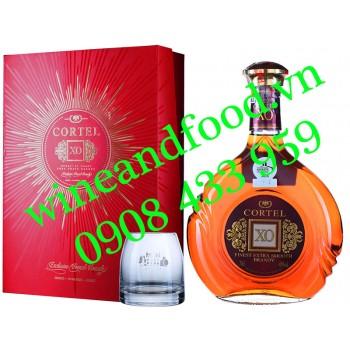 Rượu Brandy XO Cortel 70cl
