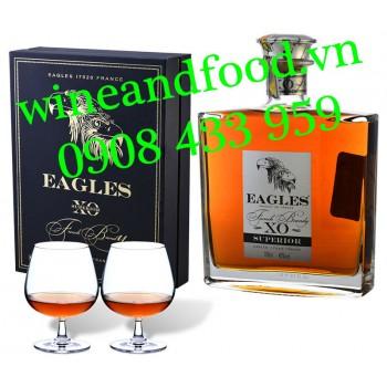 Rượu Brandy XO Eagles hộp quà 700ml