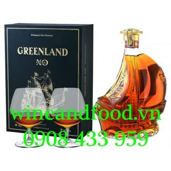 Rượu Brandy XO Greenland Con Tàu 70cl