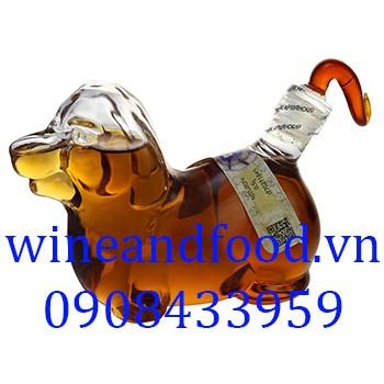 Rượu con chó Brandy nhỏ 100ml