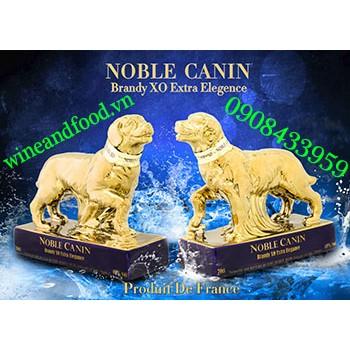 Rượu con chó Noble Canin Brandy XO 70cl