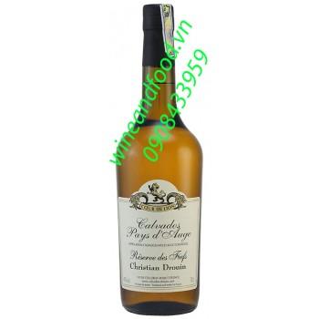 Rượu Calvados Reserve de Fiefs Coeur de Lion