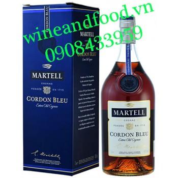 Rượu Cognac Cordon Bleu Martell Extra Old 1 Lít