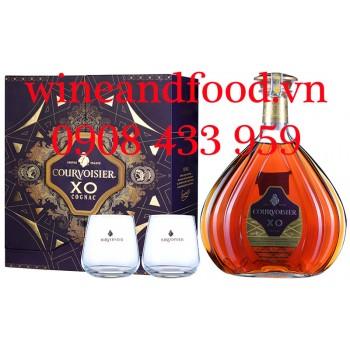 Rượu Cognac Courvoisier XO hộp quà