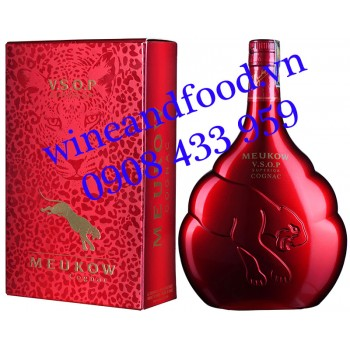 Rượu Cognac Meukow VSOP Red Limited Edition 70cl