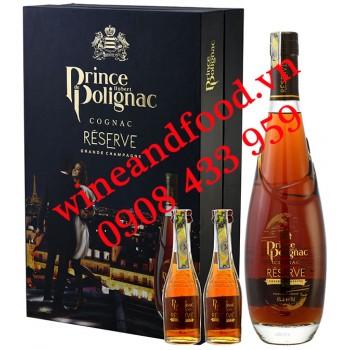 Rượu Cognac Prince Hubert de Polignac Reserve 70cl hộp quà