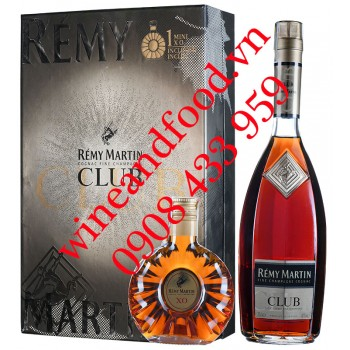 Rượu Cognac Rémy Martin Club hộp quà