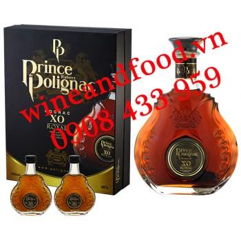 Rượu Cognac XO Prince Hubert de Polignac 700ml hộp quà