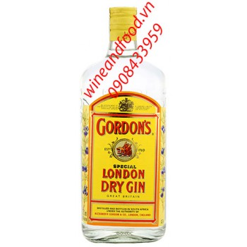 Rượu Gordon's London Dry Gin 750ml