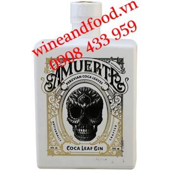 Rượu Gin Amuerte Coca Leaf Crafted White 700ml