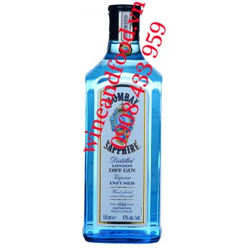 Rượu Gin Bombay Sapphire 750ml
