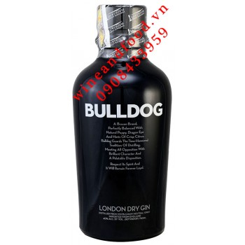 Rượu Gin Bulldog Dry 750ml