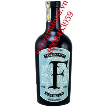 Rượu Gin Ferdinand's Saar Dry Gin 500ml