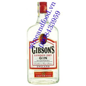 Rượu Gin Gibson's London Dry Gin 700ml