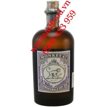 Rượu Monkey 47 Schwarzwald dry Gin 500ml