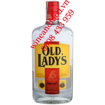 Rượu Old Lady's London Dry Gin 70cl