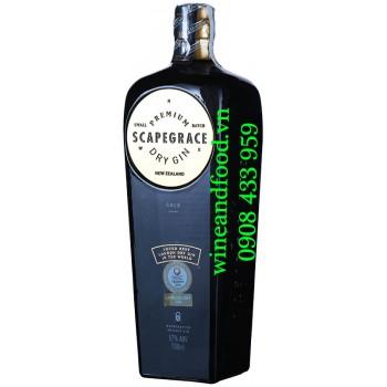 Rượu Premium Scapegrace Gold Dry Gin 57% 700ml