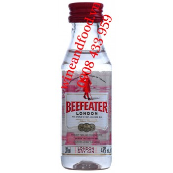 Rượu Gin Beefeater mini 5cl