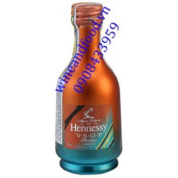 Rượu Hennessy mini Limited Edition xanh đỏ