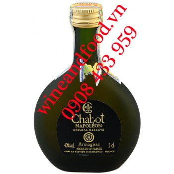 Rượu Mini Armagnac Chabot Naboleon Special Reserve 5cl