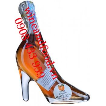 Rượu Mini chiếc giầy Apricot Liqueur Marille 40ml