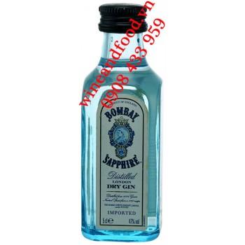 Rượu Gin Bombay Sapphire mini 5cl