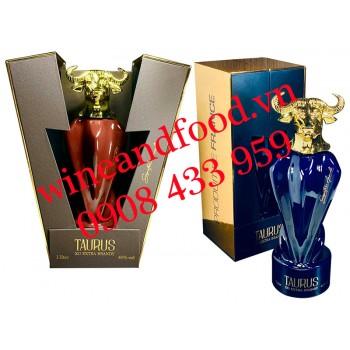 Rượu Brandy XO con Trâu Taurus Pháp 1 Lít