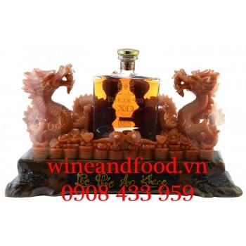 Rượu cặp Rồng Đá Brandy XO Eshcol 920 700ml
