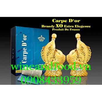 Rượu con cá Carpe D'or Brandy XO 700ml