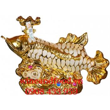 Rượu con Cá Rồng Crossback Golden Arowana 2L