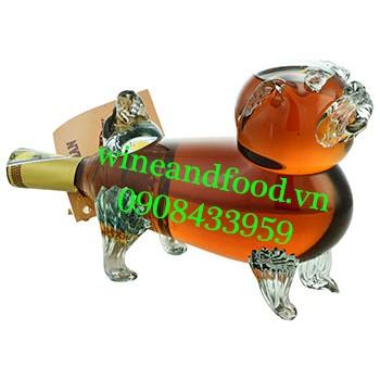 Rượu con chó dài Brandy 500ml