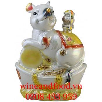 Rượu Con Chuột bằng sứ 12 1500ml