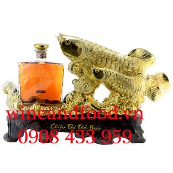 Rượu đôi Cá Rồng Brandy XO Eshcol 920 700ml