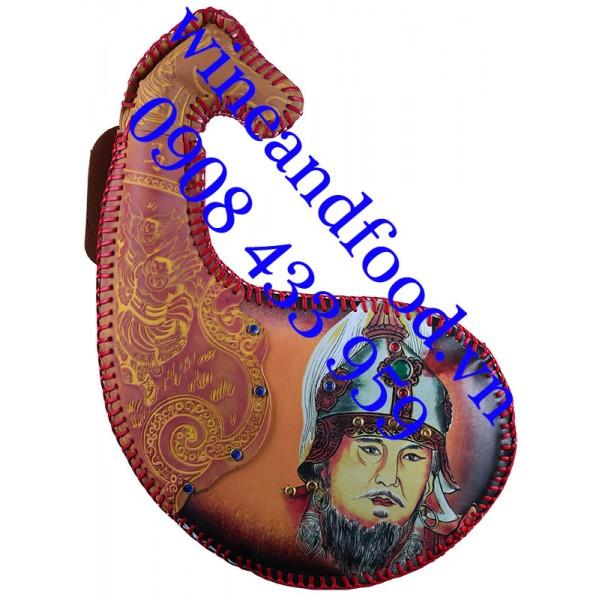 Rượu sữa ngựa Mông Cổ hình bao tử Dê 02 450ml