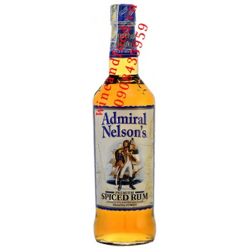 Rượu Rum Admiral Nelsons Spiced 750ml