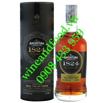 Rượu Rum Angostura 1824 12 năm 70cl