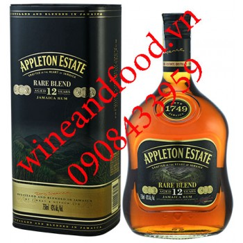 Rượu Rum Appleton Estate Rare Blend 12 năm