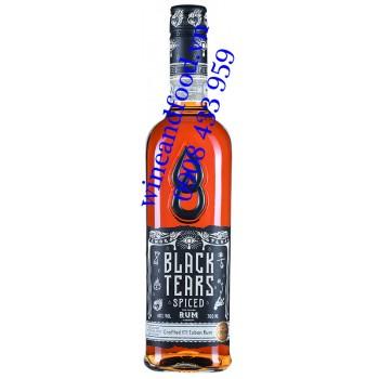 Rượu Rum Black Tears Spiced Amor Pena Crafted Cuban 700ml