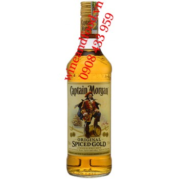 Rượu Rum Captain Morgan Vàng Original 700ml