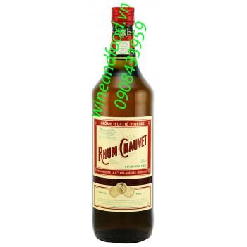Rượu Rum Chauvet 1l